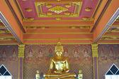 Buddha statue at Wat Khun Inthapramun, — Stock Photo
