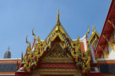 Roof of the Wat Temple, — Stock Photo
