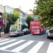 Постер, плакат: Hop On Hop Off Sightseeing Bus Tour Washington DC USA