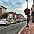 Washington DC, Georgetown historical district - Stock Photo