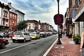 Washington DC, Georgetown historical district — Stock Photo