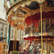 Kiev , Merry go round — Stock Photo
