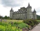 Inverarey hrad, inverarey, skotsko — Stock fotografie