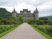 Inverarey Castle, Inverarey, Scotland — Stock Photo