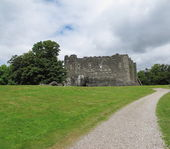 Dunnstaffnage 城の番号 nr。オーバン、アーガイル スコットランド — ストック写真