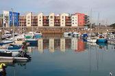 Jersey harbour, kanaal-eiland — Stockfoto