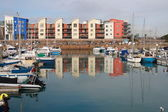 Porto de jersey, ilha do canal — Foto Stock