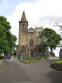 Dumfermline Abbey Dumfermline Scotland UK — Stock Photo