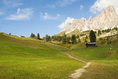 Pathway in Sudtirol — Stock Photo