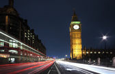 Westminster's traffic — Stock Photo