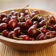 Stock Photo: Ripe cherries