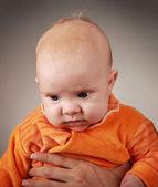 Orange child — Stock Photo