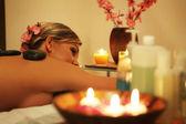Tsone massage — Stock Photo