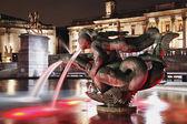 Fontana di notte — Foto Stock