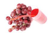 Red juice — Stock Photo