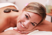 Spa smile — Stock Photo