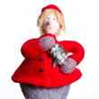 Christmas doll decoration — Stock Photo #22453415