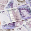Twenty pound note — Stock Photo