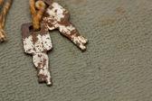 Rusty Keys — Stock Photo