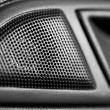 Car Speaker Macro — Stock Photo