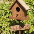 Stock Photo: Wooden Bird House