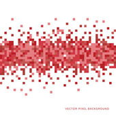 Abstract Pixel Background — Vettoriale Stock