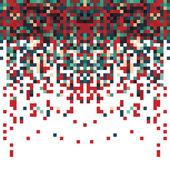 Fundo abstrato pixel — Vetor de Stock