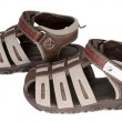 Baby boy&#039;s summer shoes - Stock Photo