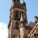 Glasgow University's bell tower — Stock Photo #26733391