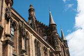 Glasgow University's towers — Stock Photo
