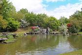 Japanese garden — Fotografia Stock