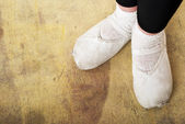 Ballerina Shoes — Stock Photo