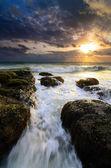 Sunrise Tanjung Kubong — ストック写真