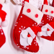 Christmas socks - Stock Photo