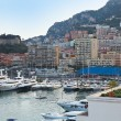 Monaco Riviera with yachts — Stock Photo