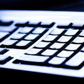 Keyboard closeup view — Stock Photo