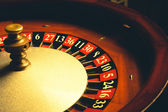 Old Roulette wheel — Stock Photo