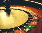 Old Roulette wheel. casino series. — Stock Photo