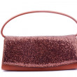Brown female handbag - Stock Photo
