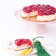 Strawberry cheesecake - Foto Stock