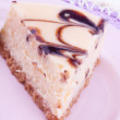 Chocolate cheesecake — Stock Photo #22455115