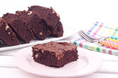 Brownie cakes — Stock Photo