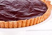 Chocolate tart — Stock Photo