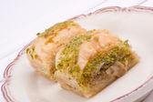 Baklaca dessert — Stock Photo