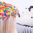 Assortment of cupcakes — Stock Photo