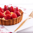 Royalty-Free Stock Photo: Strawberry tart