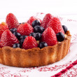 Strawberry and blueberry tart — Stock Photo #22529561