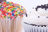 Assortment of cupcakes — Stock Photo