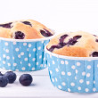Stock Photo: Blueberry muffin