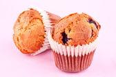 Raspberry muffin — Stock Photo
